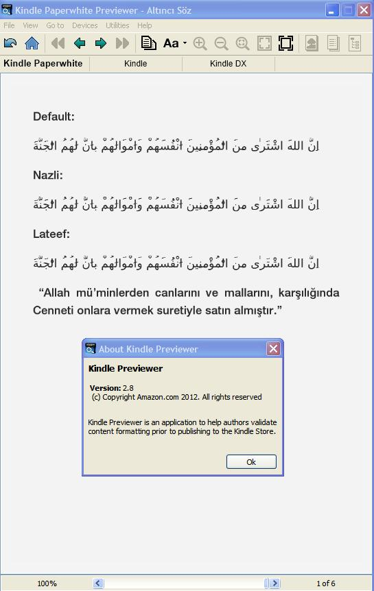 Arabic/Persian text on Kindle 3 - Page 2 - MobileRead Forums