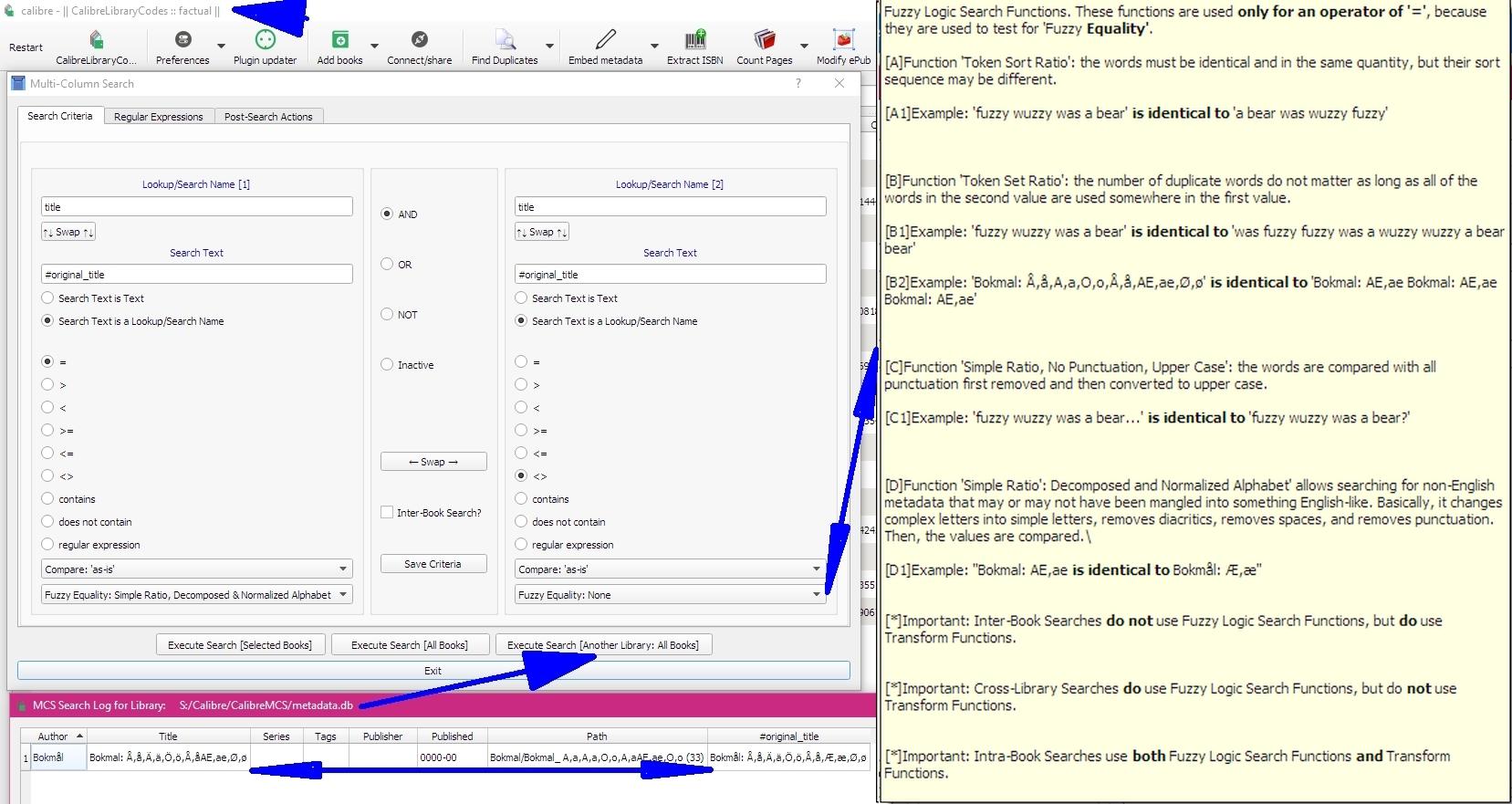 GUI Plugin] Multi-Column Search - MobileRead Forums