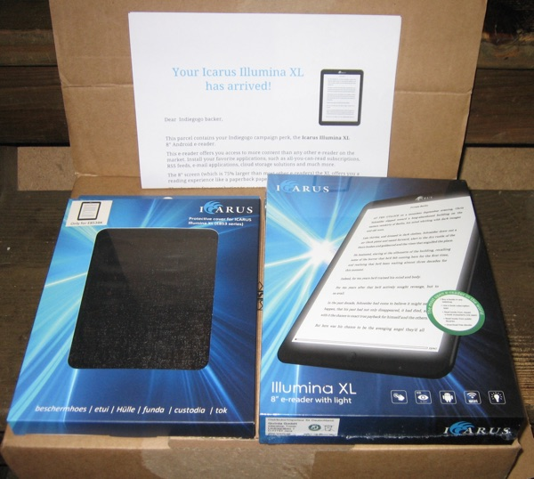 Icarus Illumina XL 8-inch E Ink eReader with Android 4.2 ...