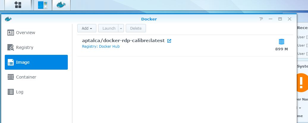 Working!-Running full Calibre GUI and server on Synology