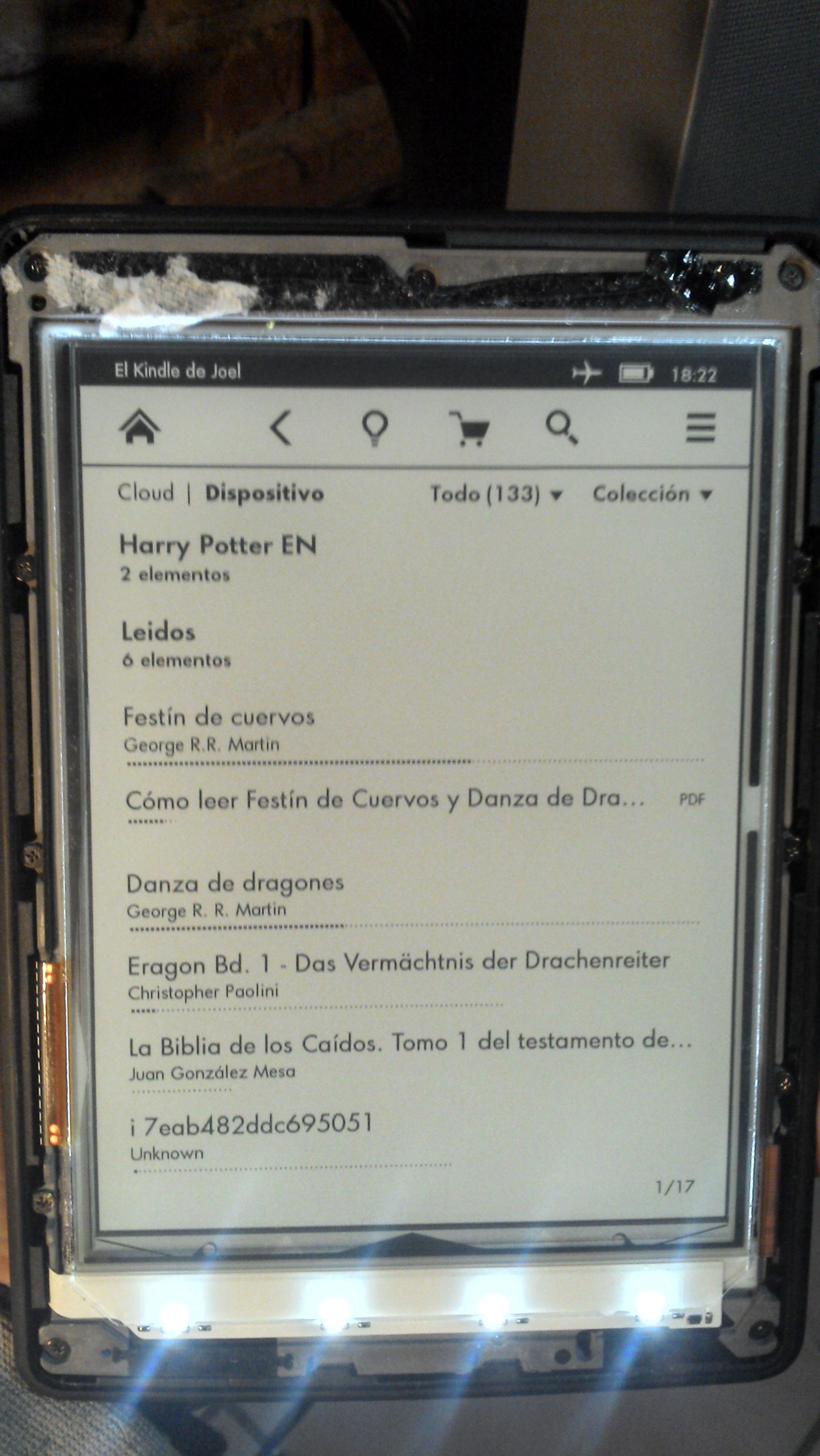 Kindle Paperwhite unresponsive touchscreen - MobileRead Forums