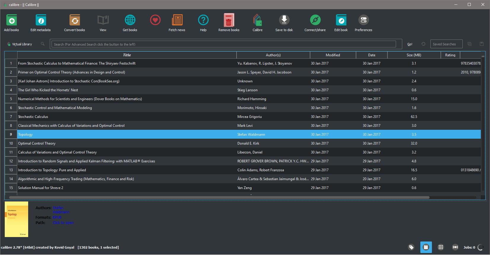 Dark theme in Calibre for Windows 10 - MobileRead Forums