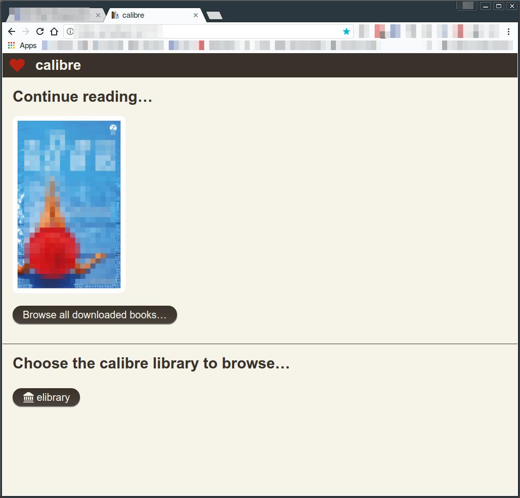 Calibre 3 4 web interface - read books - MobileRead Forums