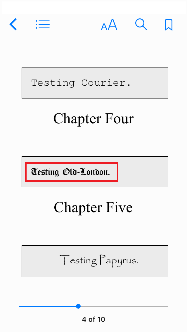 Font issues in iBooks - MobileRead Forums