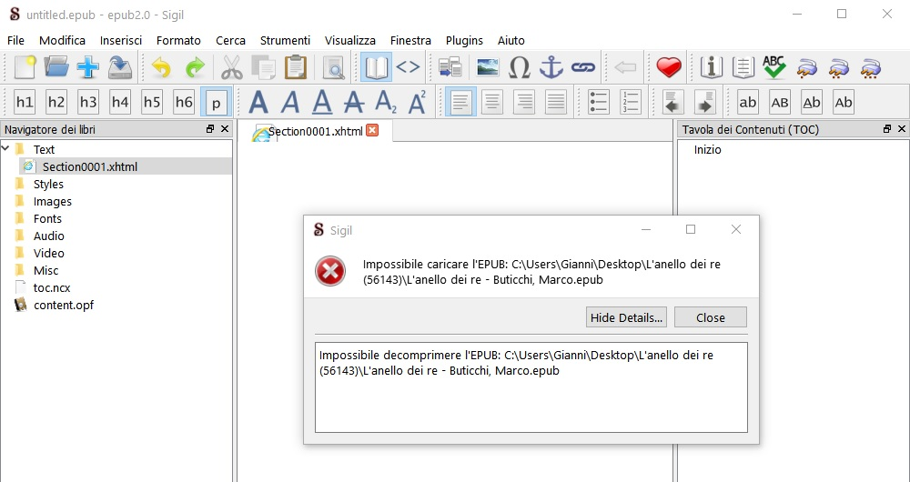 ValueError: Not a ZIP file - MobileRead Forums