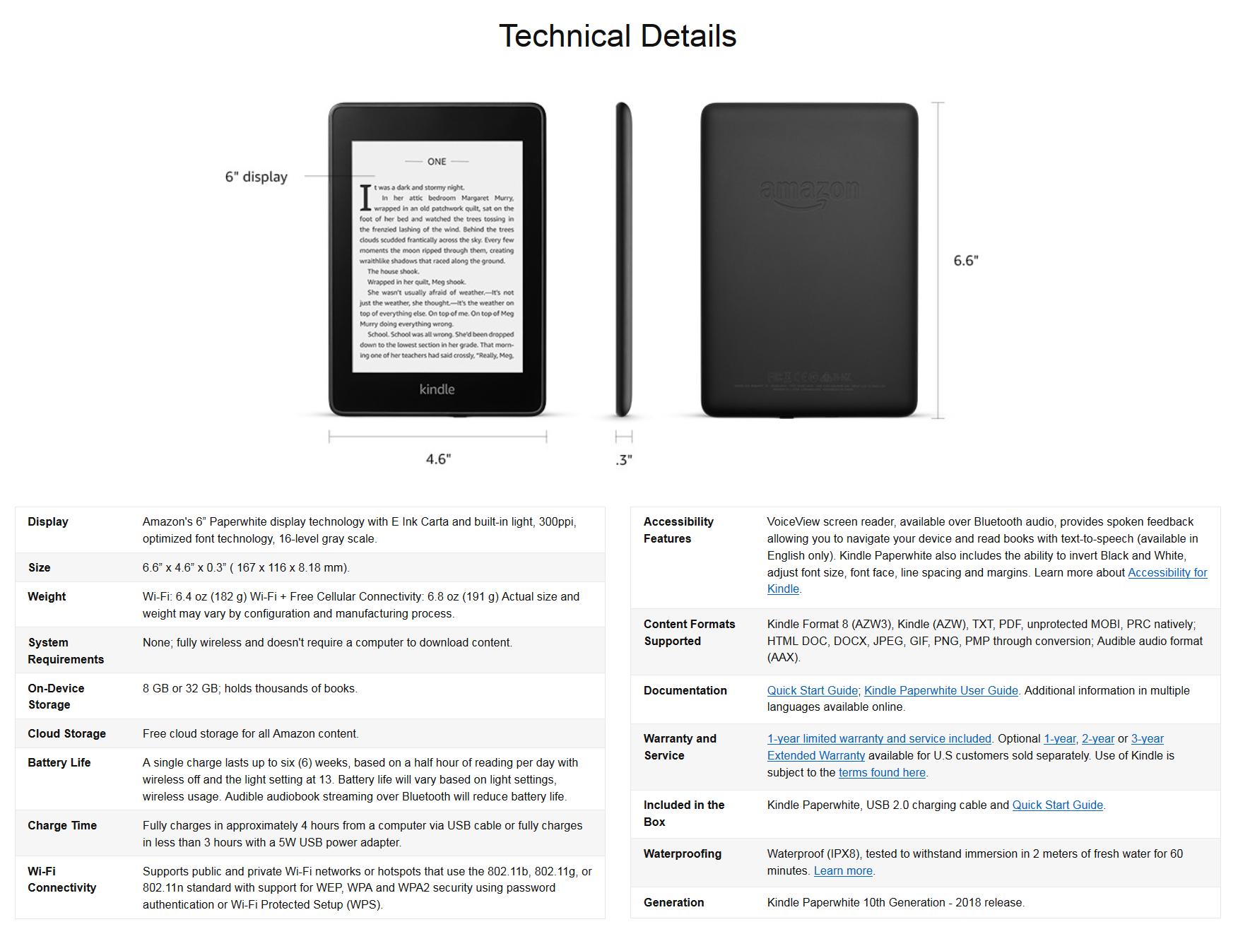 Refurbished Kindle Warranty - MobileRead Forums