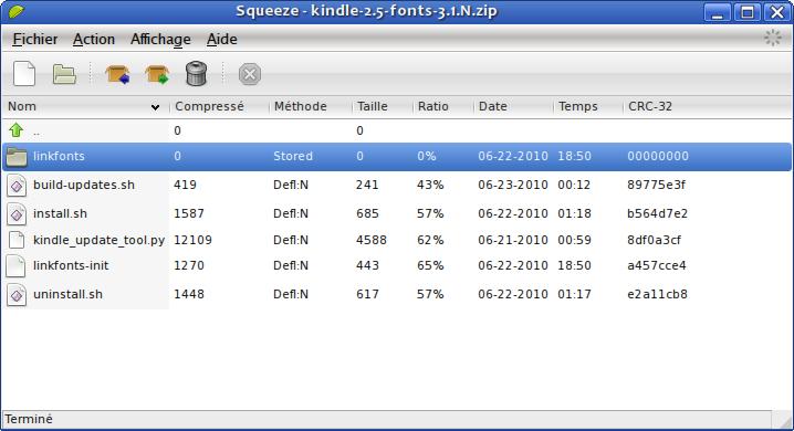 Font, ScreenSaver & USBNetwork Hacks for Kindle 2 x, 3 x & 4