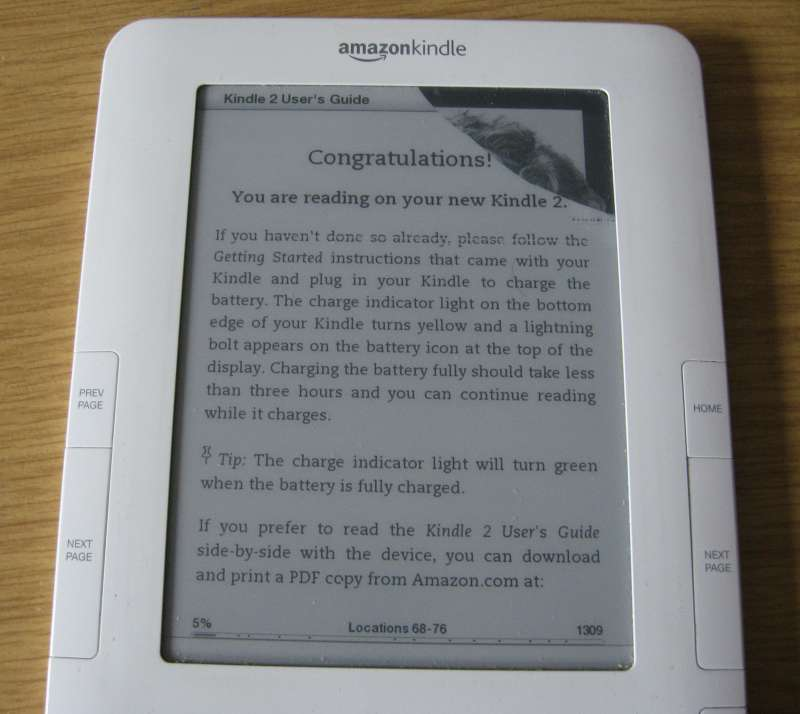 Kindle paperwhite screen frozen
