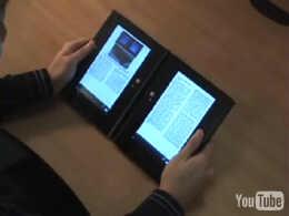 e-book dual screen